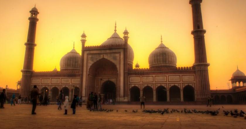"<a href=""https://www.flickr.com/photos/tataimitra/9820406573/"" target=""_blank"" rel=""noopener noreferrer"">Jama Masjid, Old Delhi   © Rajarshi MITRA / Flickr</a"