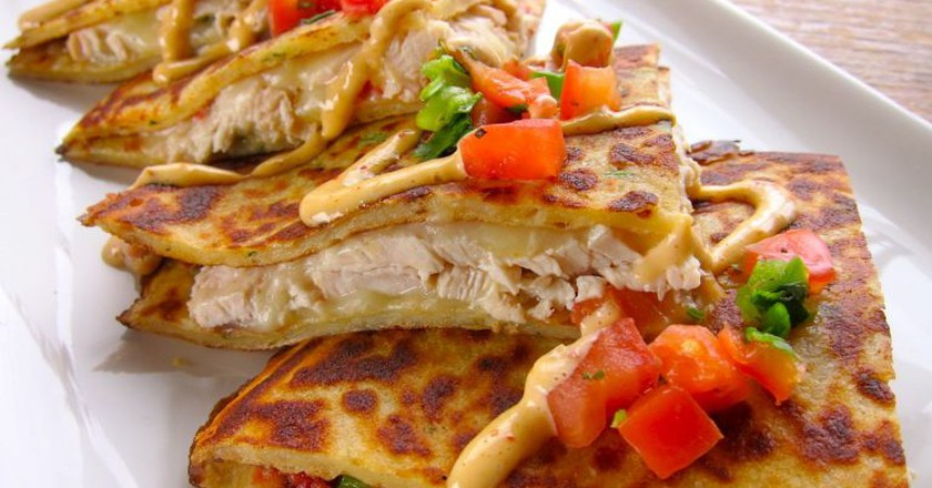 Boxty Chicken Quesadilla at Fado Irish Pub | © Fado Irish Pub/Flickr