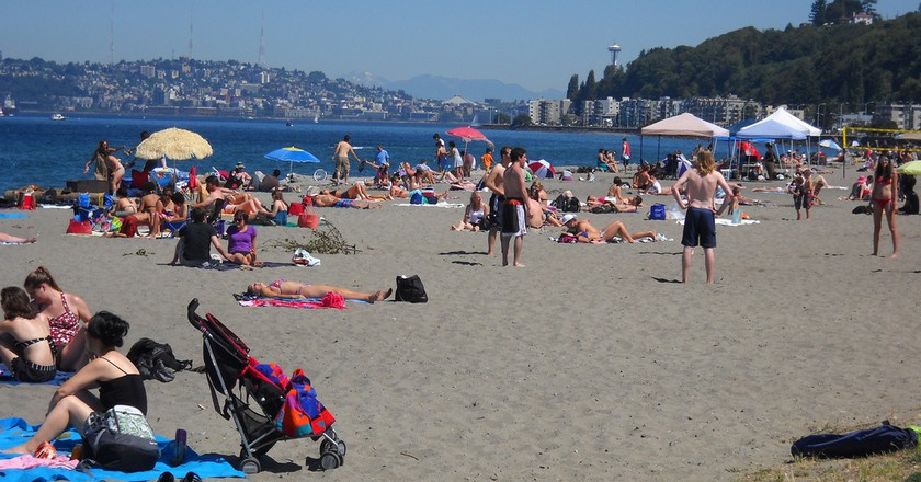 Alki Beach Park | © Seattle Parks / Flickr