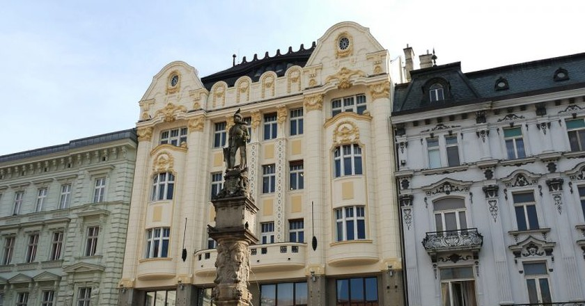 You will find many of Bratislava's best restaurants in the historic Old Town | © falco/Pixabay