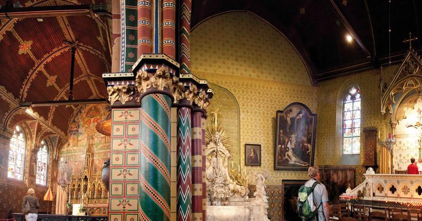 The upper Gothic chapel at Bruges' Basilica of the Holy Blood | © Jan D'Hondt / Courtesy of Visit Bruges