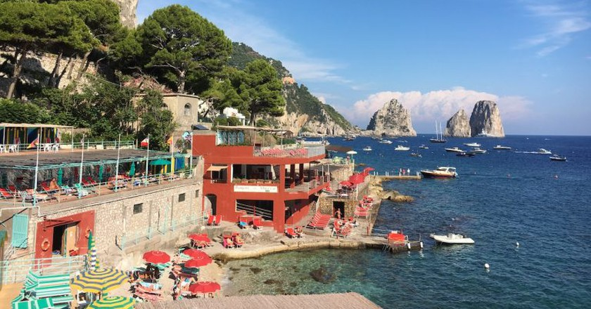 Capri I Marina Piccola I Gillian Longworth McGuire