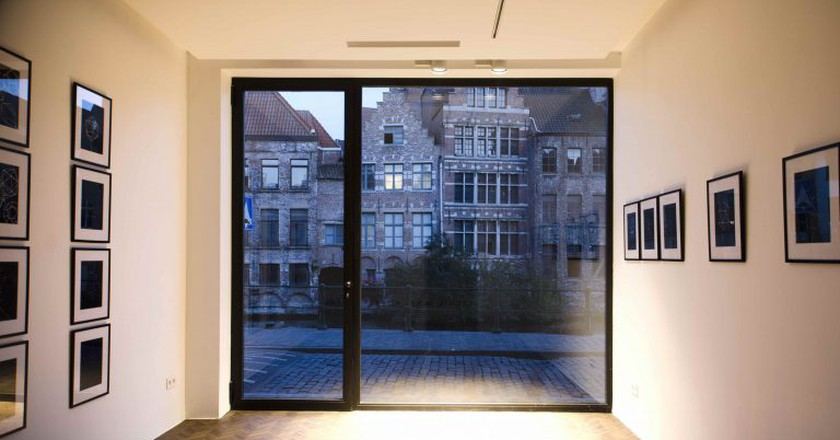 Cecilia Jaime Gallery in Ghent | Courtesy of Cecilia Jaime Gallery