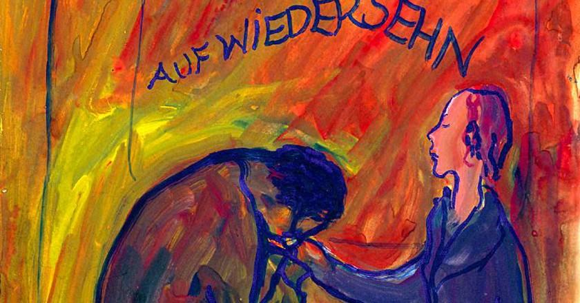 "<a href = ""https://www.jck.nl""> Charlotte Salomon ® Collection Jewish Historical Museum, Amsterdam © Charlotte Salomon Foundation, www.jck.nl"