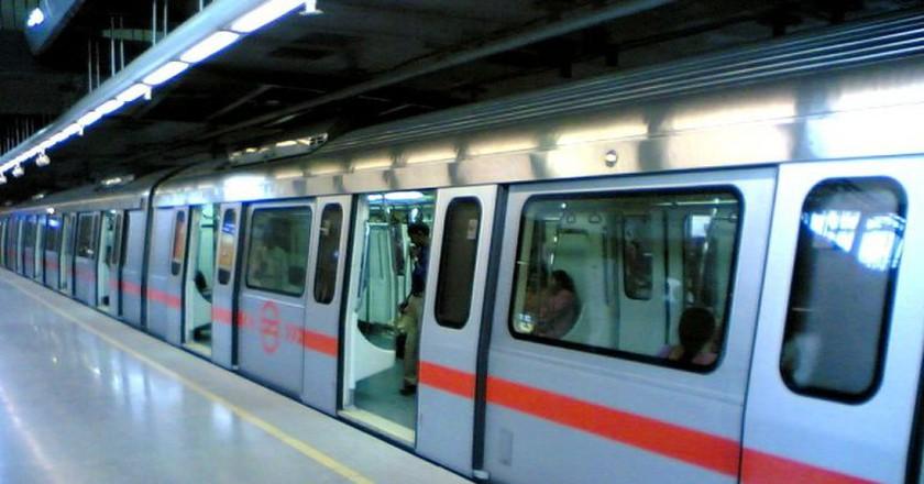 Delhi Metro | © Chippu Abraham / Wikimedia Commons