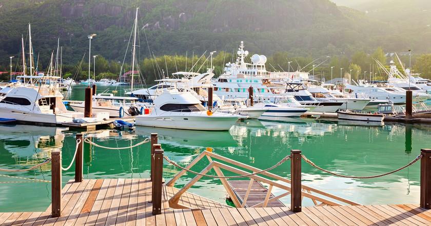 Relax and Enjoy the views of the beautiful Eden Island Marina  ©18042011/shuttershock