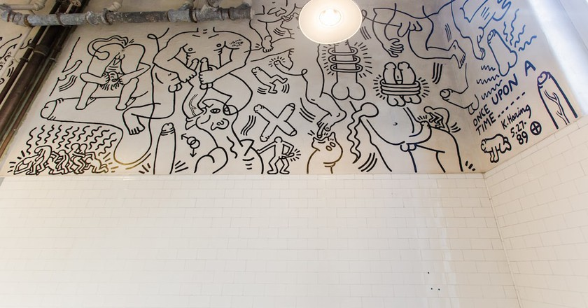Keith Haring, Once Upon a Time (1989) | © Keith Haring Foundation. Photo credit: Liz Ligon. Courtesy of The LGBT Community Center.