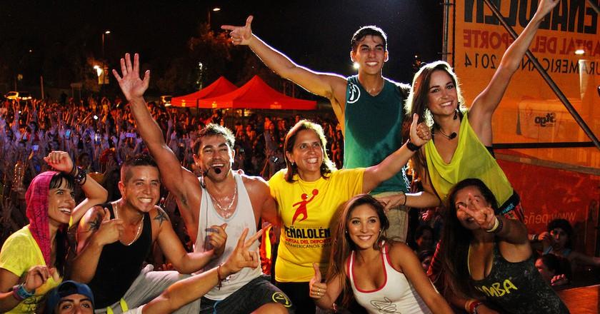 Call for celebration © Corporacion de deportes/Flickr
