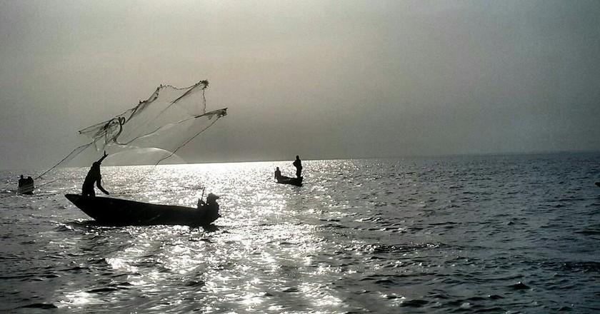 Fishing on the Lagoon  © Osisiye Tarfa