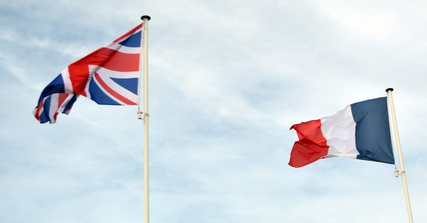 French and British flags │© baptiste_heschung / Pixabay