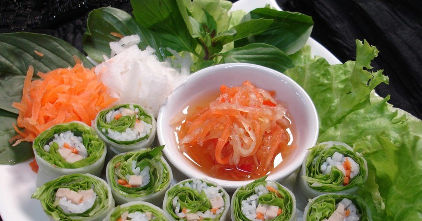 Fresh Spring Rolls | Courtesy of Komol Restaurant