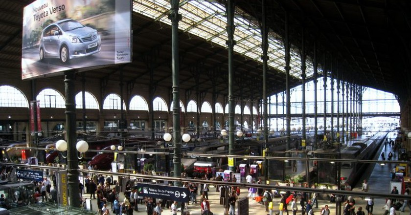 An unevacuated Gare du Nord │ © WiNG / Wikimedia Commons