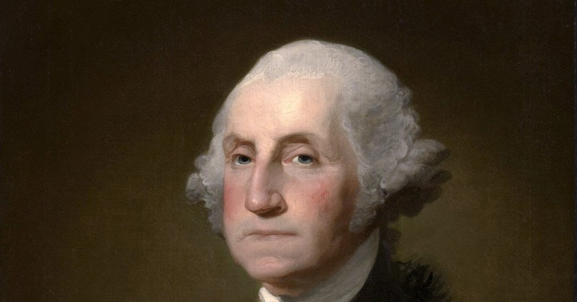 Gilbert Stuart, Portrait of George Washington (1732–99), 20 March 1797 | ©Clark Art Institute / WikiCommons