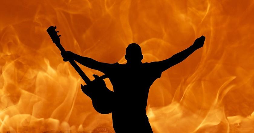 Guitarist | © HyphoArt/Pixabay