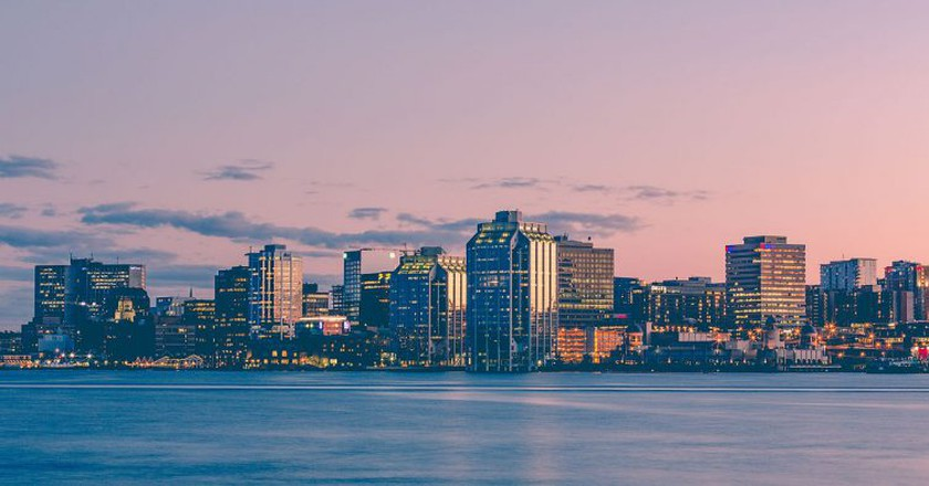 Halifax Harbour sunset | © Tony Webster/WikiCommons