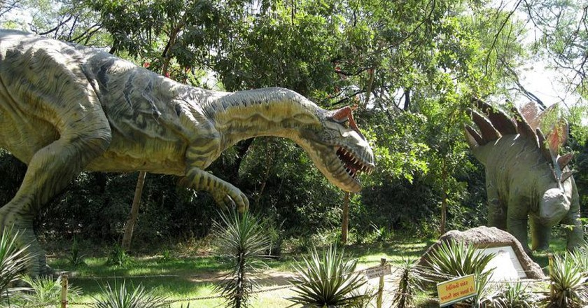 Indroda Dinosaur and Fossil Park | © FabSubeject / Wikimedia Commons