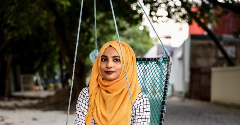 Umm Muladhat says Muslim women are like any other women   © Jerry Seon / pxhere