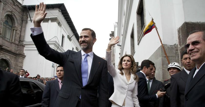 King Felipe and Queen Letizia|©Cancillería del Ecuador/Flickr