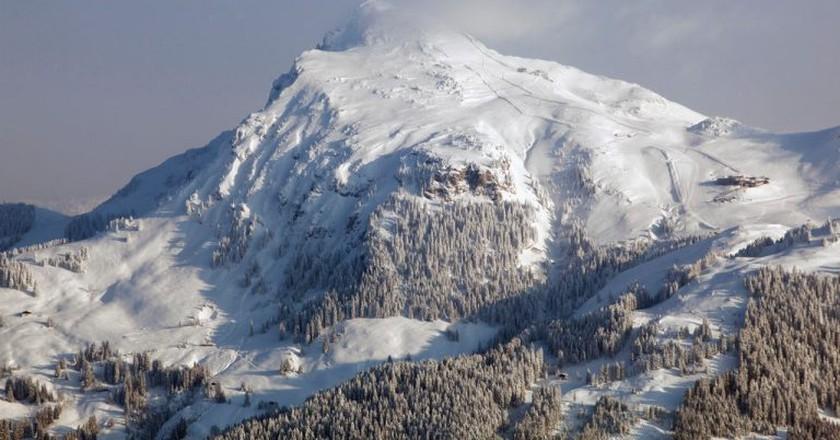 View of the Kitzbüheler Horn mountain | © Austrian Tourist Board