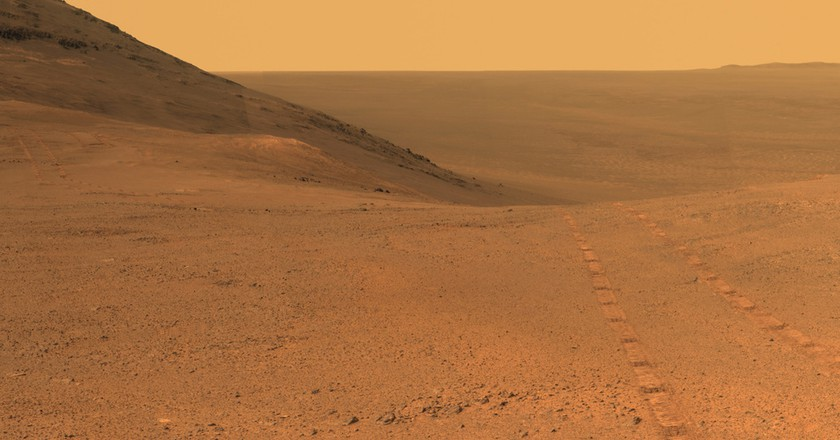 The Mars landscape | © NASA