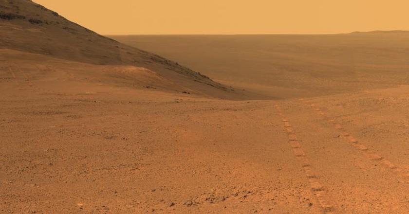 The Mars landscape | © NASA