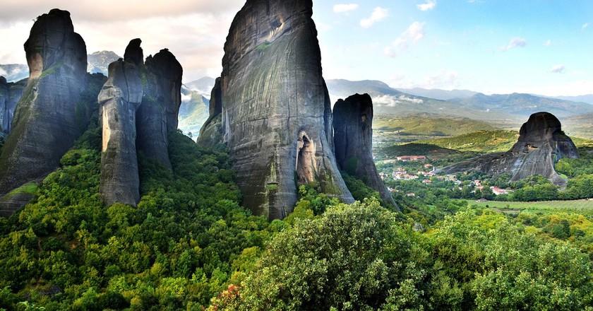 "<a href=""https://pixabay.com/en/meteora-greece-mountains-nature-1776216/ "">The beautiful site of Meteora | michelmondadori / Pixabay</a>"