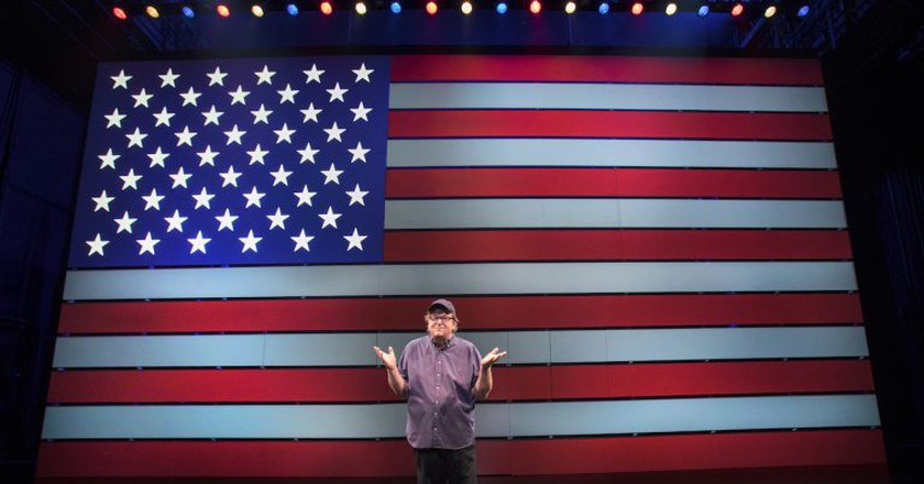 """Michael Moore in """"The Terms of My Surrender"""" 