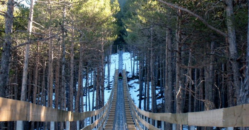 Mountain toboggan, Andorra