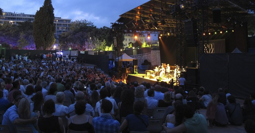 The Nice Jazz Festival is just one of many iconic places to hear jazz on the French Riviera | © Michel Riallant/Flickr