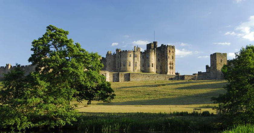Alnwick Castle, England UK  © Darren Turner