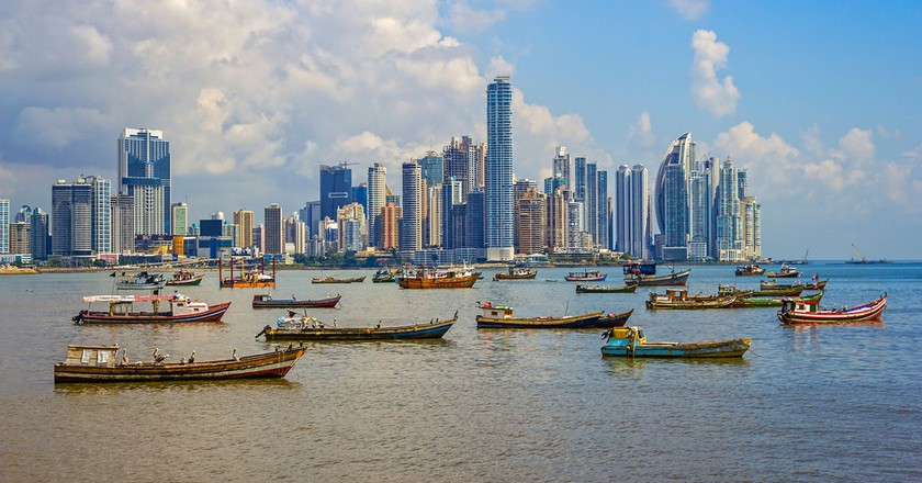 View of Panama City's skyline | © 100 Resilient Cities