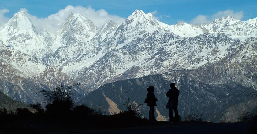 Panchchuli Peaks in the Munsiari district of Uttarakhand   © solarshakti/Wikimedia