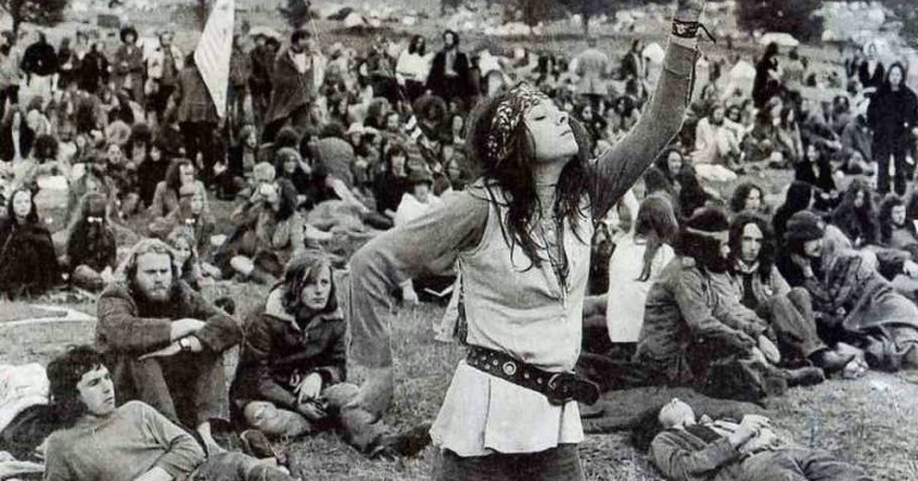 The hippie movement of the 1960s | © Paul Townsend/Flickr