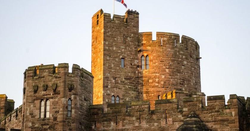 Peckforton Castle Tower | © Steve/Flickr