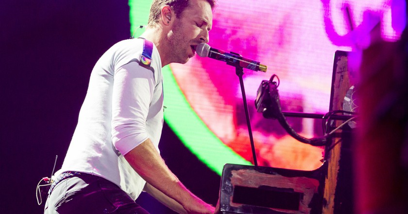 Chris Martin of Coldplay © Franck,Patrick/action press/REX/Shutterstock