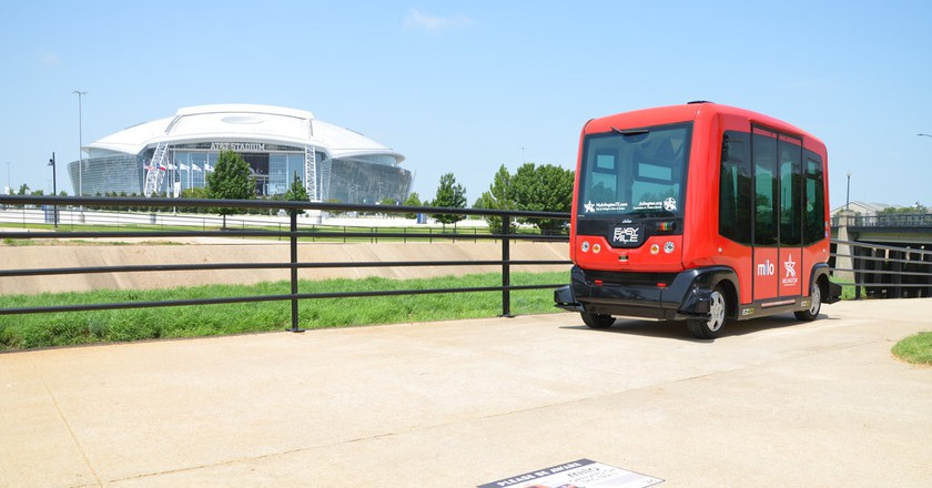 Milo shuttle   © City of Arlington