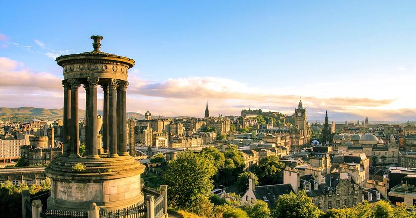 Edinburgh skyline seen from Calton Hill, Scotland | © evenfh / Shutterstock