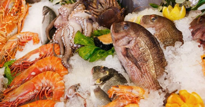 Seafood is popular in Buzios