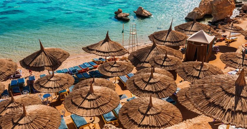 Resort on the Red Sea   © Elena Pavlovich/Shutterstock