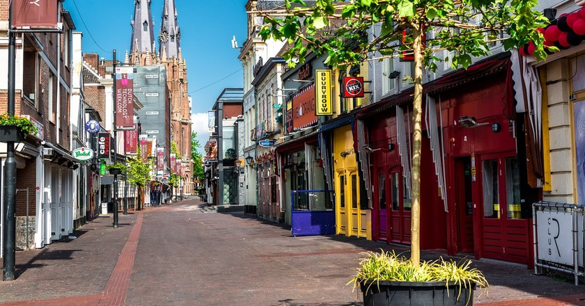 Colourful street in Eindhoven | © Alex Tihonovs/Shutterstock