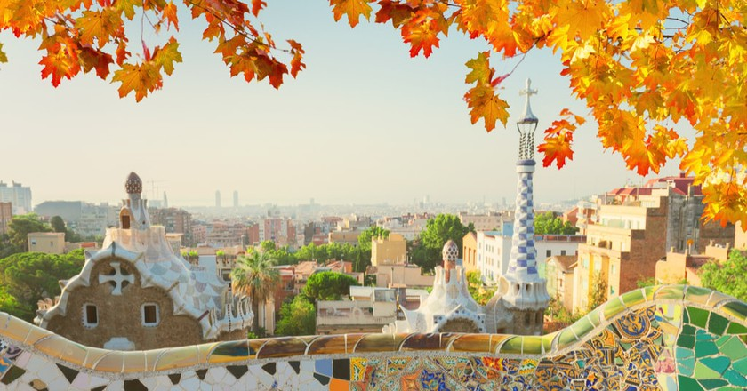 Autumn Leaves in Barcelona | © Neirfy/Shutterstock