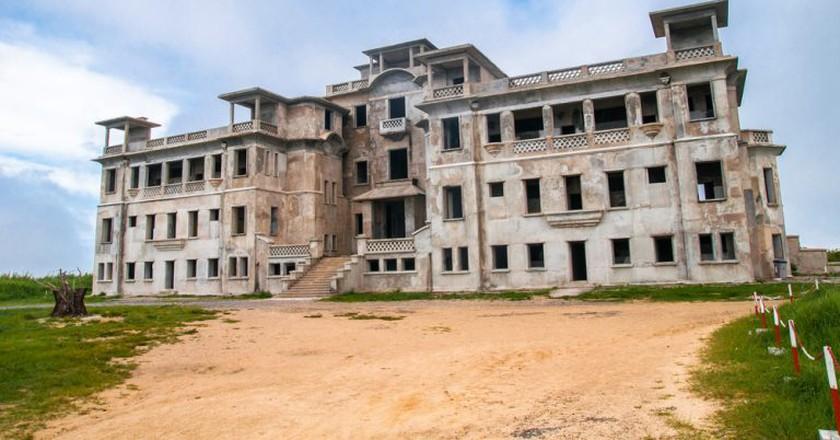 Abandoned Bokor Hill Station in Kampot