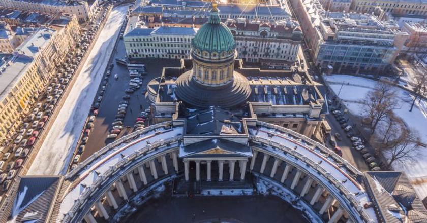 Kazan Cathedral    Drozdin Vladimir / Shutterstock