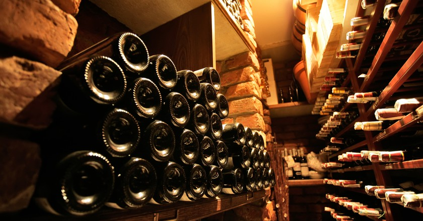 Cellars of local wine await in Vouvray I | © hacohob/Shutterstock