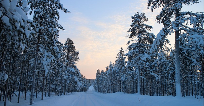 Finland winter landscape / Good Free Photos