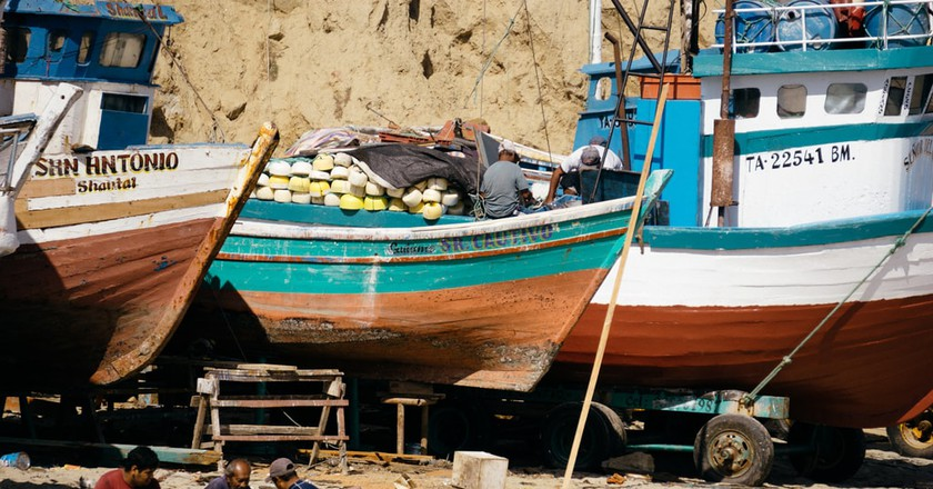 Fishing boats | © Mia Spingola/Culture Trip