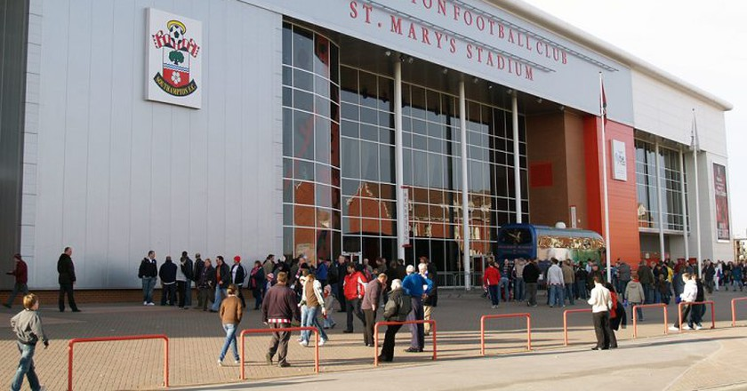 St. Mary's Stadium | © WikiCommons/David Ingham