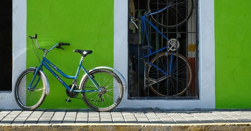 The bright colors of Cholula
