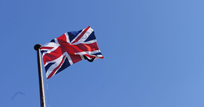 Union Jack flag at full mast | © Rian (Ree) Saunders Flickr