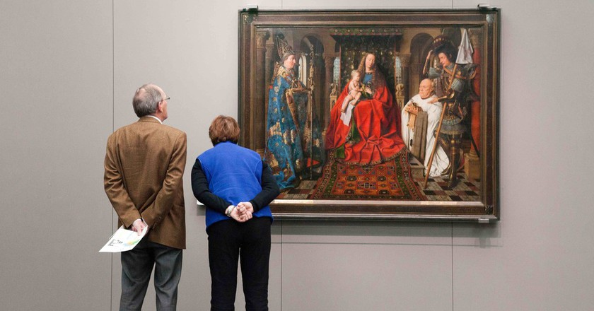 Van Eyck at the Groeningemuseum   © Jan D'Hondt / Courtesy of Visit Bruges